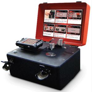 A portable FTIR: http://www.chem.agilent.com